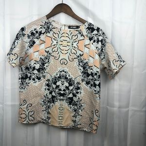Missguided Different Patterned Short Sleeve top